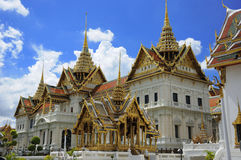Grand Palace, Bangkok, Thailand. Famous Royal Grand Palace of Bangkok, Thailand Royalty Free Stock Photo