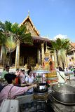 The Grand Palace and Temple of Emerald Buddha Stock Image