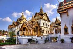 Grand Palace, Bangkok, Thailand. A section of buildings at the Grand Palace in Bangkok, Thailand Royalty Free Stock Images