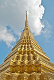 Grand Palace in Bangkok, Wat Phra Kaew. Ancient architecture art asia asian bangkok blue Royalty Free Stock Image