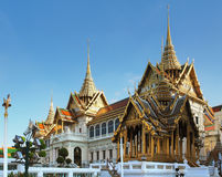 Grand Palace in Bankok Royalty Free Stock Photos