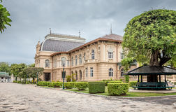 Grand Palace, Borom Phiman Throne Hall  Bangkok, in Wat Pra Kaeo ,Thailand Royalty Free Stock Photos