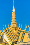 Grand palace, Cambodia. Royalty Free Stock Images