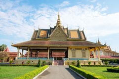 Grand palace, Cambodia Royalty Free Stock Photography