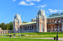 The grand palace of Catherine the Great in Tsaritsyno, Moscow Royalty Free Stock Photography