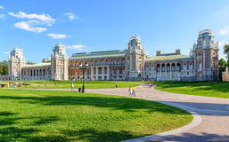 The grand palace of Catherine the Great in Tsaritsyno, Moscow Royalty Free Stock Image