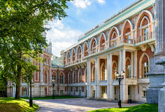 The grand palace of Catherine the Great in Tsaritsyno, Moscow Stock Photography