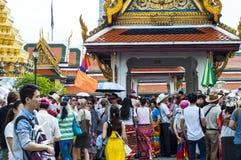 Grand Palace complex, Bangkok, Thailand Stock Photos