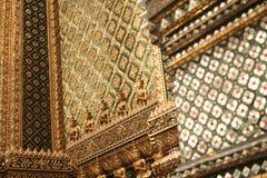 Grand palace details bangkok thailand Stock Photos