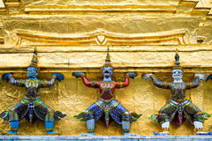 Grand Palace Details, Bangkok, Thailand Royalty Free Stock Images