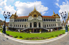 The Grand Palace at The Emerald Buddha temple Stock Images