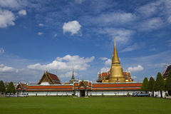 The Grand Palace and The Emerald Buddha Temple Royalty Free Stock Photography