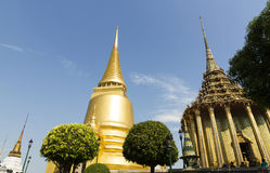 The Grand Palace and Emerald Buddha temple - Bangkok Stock Image