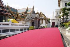 The Grand Palace entrance in Bangkok, Thailand Royalty Free Stock Photos