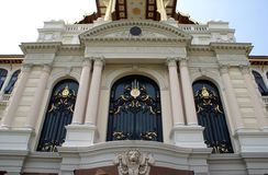 The Grand Palace facade in Bangkok, Thailand, Asia Stock Photos