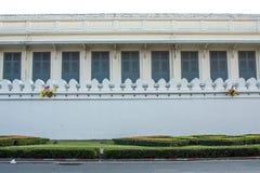 Grand palace : fence. Wat phra kaew, Grand palace, Bangkok, Thailand Royalty Free Stock Images