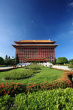 Grand Palace Hotel,Taiwan. Grand Palace Hotel.Chinese Architecture,Taipei.Taiwan royalty free stock photo