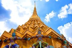 Grand Palace In Bangkok, Thailand Stock Photography