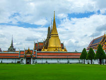 Grand Palace. The major tourism attraction in Bangkok, Thailand Royalty Free Stock Image
