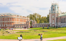 Grand Palace. Museum-Reserve Tsaritsyno. Stock Photo