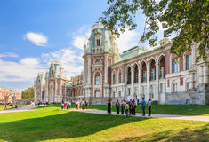 Grand Palace. Museum-Reserve Tsaritsyno Royalty Free Stock Image
