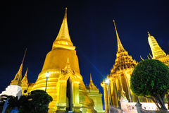 Grand Palace at night Royalty Free Stock Photo