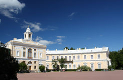 Grand palace in Pavlovsk park Stock Photography