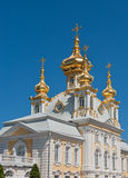 Grand palace, Petergof, Russia Royalty Free Stock Images