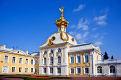 The Grand Palace, Peterhof Royalty Free Stock Photography