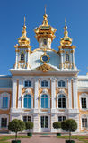 Grand palace in Peterhof Royalty Free Stock Photo