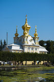 Grand Palace in Peterhof Stock Photo