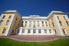 Grand Palace of Peterhof, Saint-Petersburg Stock Photo