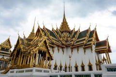 Grand Palace Phra Thinang Dusit Maha Prasat throne hall and pavilion in Bangkok, Thailand Royalty Free Stock Images