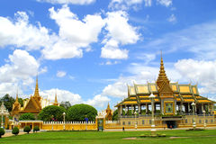 Grand Palace in Pnom Penh Stock Images