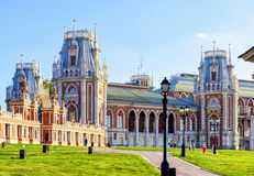The grand palace of queen Catherine the Great in Tsaritsyno, Mos Stock Photography