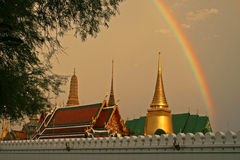 Grand Palace Rainbow Stock Images