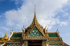 Grand palace roof Stock Photography