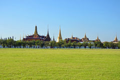 Grand Palace and Sanam Luang Stock Photography