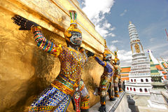Grand Palace Sculptures Royalty Free Stock Images