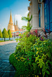Grand Palace of Tailand. This photo is taken at Grand Palace,when travel in Tailand,very beautiful historic buildings .Photo by Toneimage in China,a photographer Stock Image