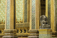 Grand palace temple bangkok thailand Royalty Free Stock Photo