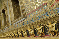 Grand palace temple detail bangkok thailand Royalty Free Stock Photography