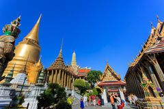 Grand Palace or Temple of the Emerald Buddha Stock Photography