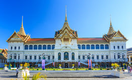 Grand Palace or Temple of the Emerald Buddha Stock Image