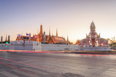 Grand Palace or Temple of the Emerald Buddha Stock Photos