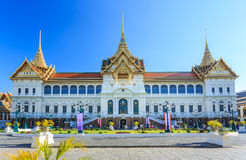 Grand Palace or Temple of the Emerald Buddha Royalty Free Stock Images