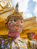 Grand Palace and Temple of Emerald Buddha complex in Bangkok Royalty Free Stock Image