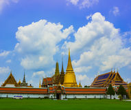 Grand palace and temple phra kaew.jpg. Grand palace and temple phra kaew in Thailand Royalty Free Stock Image