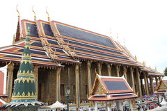 Grand Palace 3. The Thai architectural style of temple Stock Photos