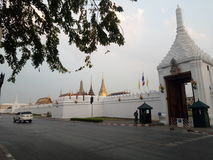 The grand Palace in Thaialnd Royalty Free Stock Photos